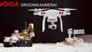 Võida droonikaamera! Tõeline must reede on kohe-kohe siin!