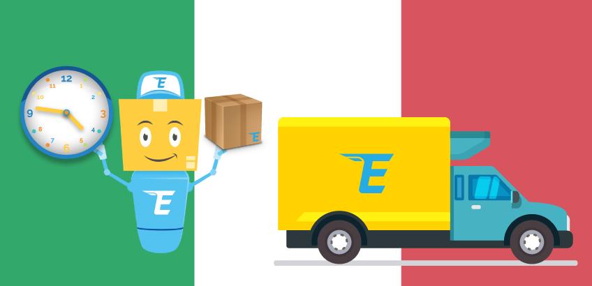 Info Itaalia pakkide kättetoimetuse kohta