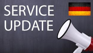Service Alert - Delays in Germany
