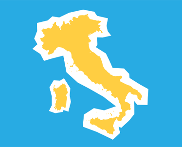 Delivery update for parcels coming from Italy