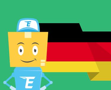 Изменение адреса для заказов из Германии.